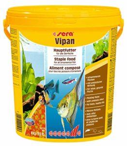 Sera Vipan Gros Flocon Nourriture pour Aquariophilie 4 kg